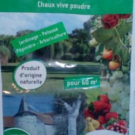 Chaux mousse (5kg)