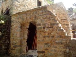 photo 5 : Arc d'ouverture en pénétration de voûte