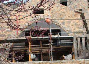 photo 11 : Gabarit à deux niveaux de voùte