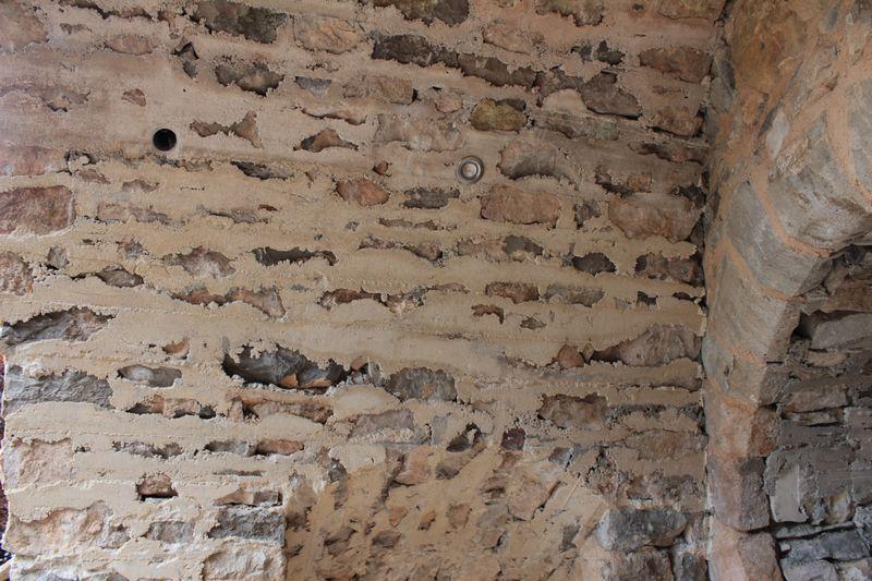 photo 15 : Mortier à l'intrados après décintrage (non piqué)